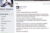 Marcin Gortat ogłosił konkurs na... Mannequin Challenge! Do wygrania 5 tysięcy złotych.
