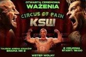 """KSW 37 """"Circus of Pain"""": Wyniki ważenia"""