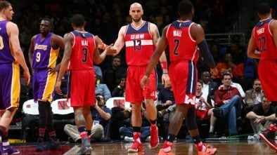 Marcin Gortat Wizards Washington