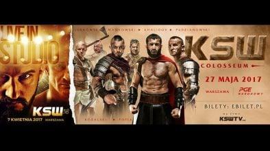 KSW Forum MMA plakat