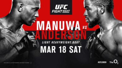 UFC Fight Night 107 Manuwa vs Anderson