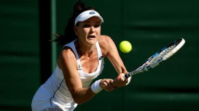 agnieszka radwańska ranking WTA